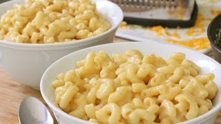 getlinkyoutube.com-How to Make Easy Macaroni and Cheese  (Stove Top)
