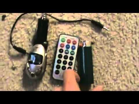 3-в-1 Полный диапазон FM передатчик MP3-плеер с ИК