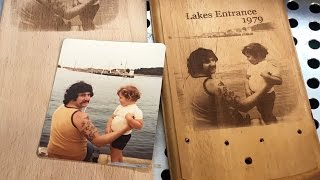 getlinkyoutube.com-Laser Engraving Techniques for Putting Photos onto Wood