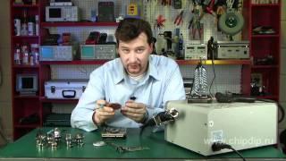 getlinkyoutube.com-Hot-Air Soldering of Microchips