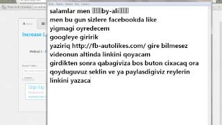 getlinkyoutube.com-like yigmaq asant yolla