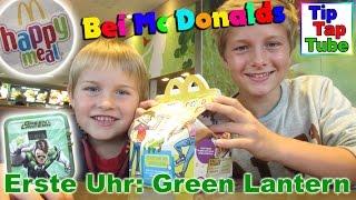 getlinkyoutube.com-Green Lantern Mc Donalds Spielzeug Uhr Happy Meal auspacken Ash Geburtstag Kinderkanal Kanal für Kin