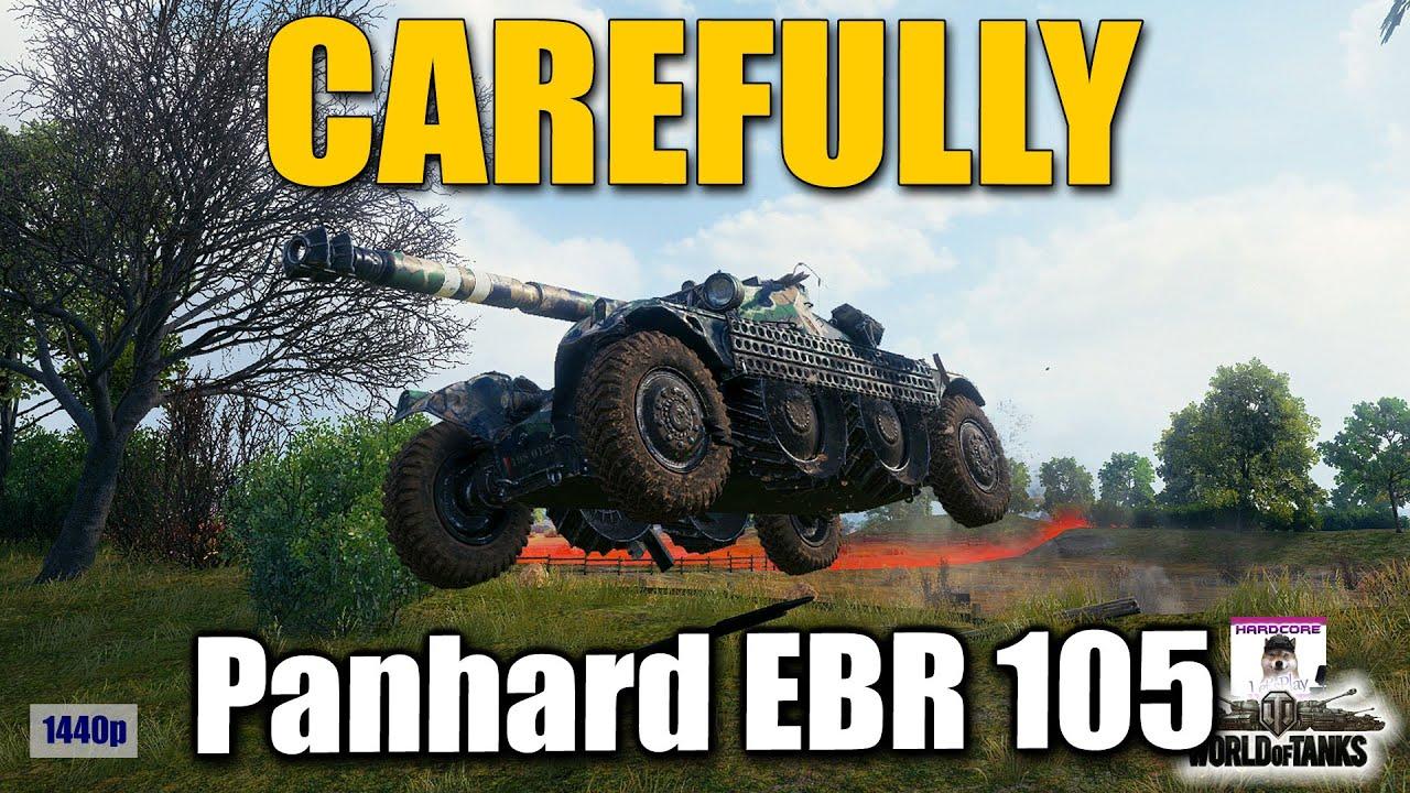 Panhard EBR 105  no yolo   successfull  best World of Tanks games