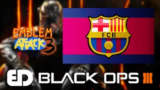 Black Ops 3: FC BARCELONA Emblem Tutorial (Emblem Attack 3)