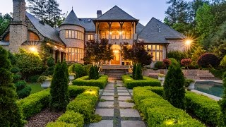 BEAUTIFUL 5 MILLION DOLLAR ENGLISH MANOR IN ATLANTA - 4250 Papermill Road