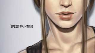 getlinkyoutube.com-Speed painting portrait 2
