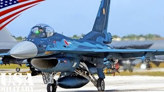 getlinkyoutube.com-航空自衛隊 F-2戦闘機 コープノース・グアム演習 - Mitsubishi F-2 Japanese Fighter Jet in Exercise Cope North Guam - JASDF