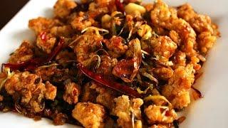 getlinkyoutube.com-Spicy garlic fried chicken (Kkanpunggi: 깐풍기)