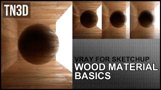 getlinkyoutube.com-How to Create Wood Floor Material in Vray for sketchup 2.0 - Tutorial
