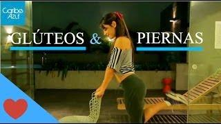 getlinkyoutube.com-Ejercicios para glúteos y piernas hermosos. Fácil! - Mafe Ampuero - Caribe Azul