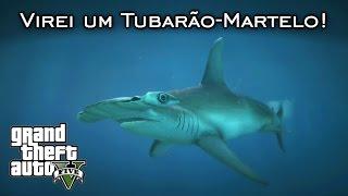 getlinkyoutube.com-Virei um tubarão-martelo! | Planta Peiote #3 | GTA V Nova geração [PT-BR]