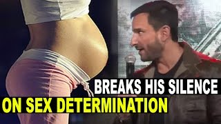 getlinkyoutube.com-Saif Ali Khan Breaks His Silence on Sex Determination of His, Kareena Kapoor's Baby