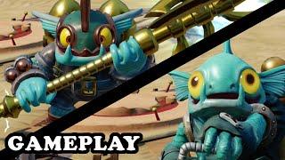 getlinkyoutube.com-Skylanders Superchargers - Deep Dive Gill Grunt & S4 Gill Grunt GAMEPLAY