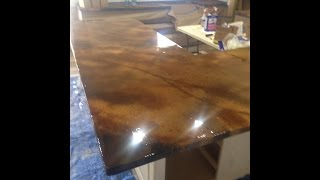 getlinkyoutube.com-Concrete Countertop From Start To Finish by Ken's Custom Designs