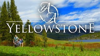 Yellowstone National Park in 4k   Bushcraft Backpacking, Hiking, and Camping Wyoming