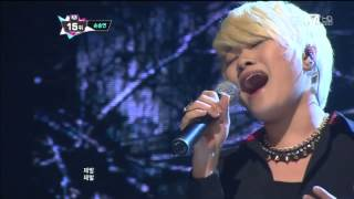 getlinkyoutube.com-[엠카 동영상] '가슴아 가슴아' 손승연, 가창력 폭발 '소름 쫙~