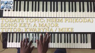 (Full Video) How to play Nsem pii by Koda on the piano