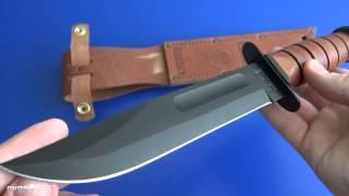 getlinkyoutube.com-Боевой нож: Ka-Bar Full Size USMC