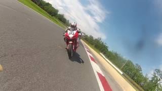 """getlinkyoutube.com-CCS Summit Point, EX Mid Wt Superbike.. with """"bonus footage"""" Greg Melka"""