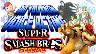 getlinkyoutube.com-Super Smash Bros. Special - Did You Know Voice Acting?