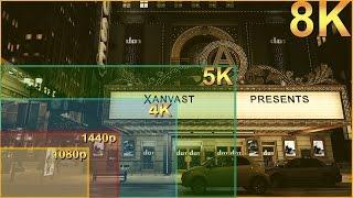getlinkyoutube.com-1080p vs 1440p vs 4K vs 5K vs 8K Resolutions Visual Comparison Titan X Pascal SLI