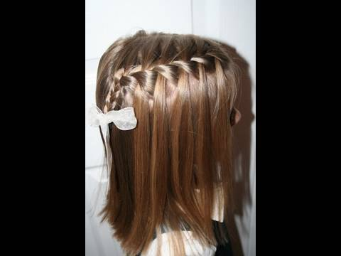 Waterfall Braid {Plait} | Popular Hairstyles | Cute Girls Hairstyles