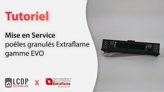 getlinkyoutube.com-Mise en Service poêles granulés Extraflame gamme EVO
