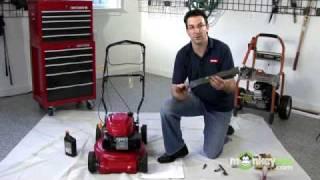 getlinkyoutube.com-How to Winterize a Lawn Mower
