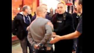 getlinkyoutube.com-Police Fail in Manchester. ASSAULT by the POLICE!!!