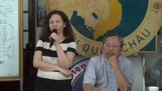 Dienchan.com - HV K133 vợ chồng chị Bạch tuyết chia sẽ về Âm Dương Khí Công