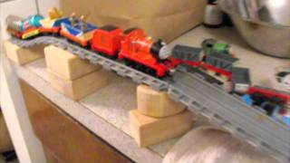 getlinkyoutube.com-Gordon, Percy, and James Take Along Trains in Real Water Video
