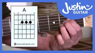 getlinkyoutube.com-Beginner Guitar Lessons - Stage 1: The A Chord - Your Second Super Easy Guitar Chord [BC-112]