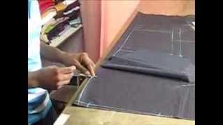 getlinkyoutube.com-how to cut a female  pants