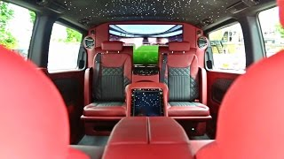 Yiannimize don't only wrap cars! V Class Conversion!