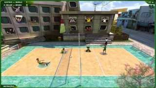 Super Volleyball Brazil - Unity Volleyball Game, HD