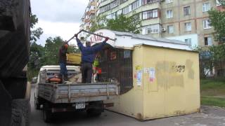 getlinkyoutube.com-Демонтаж кіоску (Полтава, 15.05.2015)
