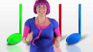 getlinkyoutube.com-Dance Song For Children - Let the Music Move Your Feet - Debbie Doo