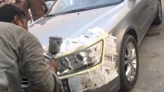 getlinkyoutube.com-اسهل طريقة لتلميع وتنظيف انوار السيارة مضمونه