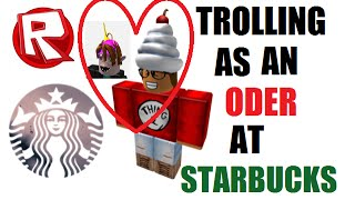 getlinkyoutube.com-ROBLOX Trolling as an ODer at Starbucks