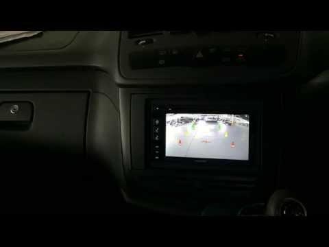 2015 Mercedes Valente 639 Integrated Rear View Camera System for Alpine Navigation