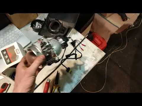 76 Skoda Superb Часть 1, замена штатных линз, замена ламп, чистка, покраска