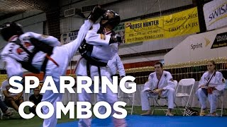 getlinkyoutube.com-Point Sparring Kicking Combos