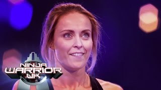 getlinkyoutube.com-Katie McDonnell is back! | Ninja Warrior UK