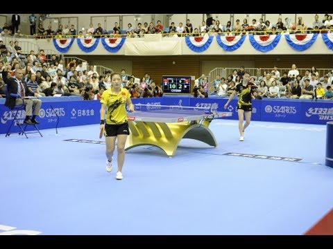 Women´s World Cup 2013 Highlights: Liu Shiwen vs Wu Yang (Final)