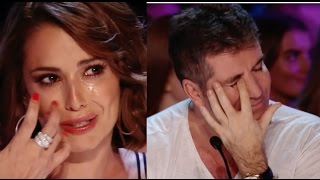 Even Simon CRY Because Of His EMOTIONAL Voice!