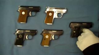 getlinkyoutube.com-Colt Junior .25 acp and .22 short