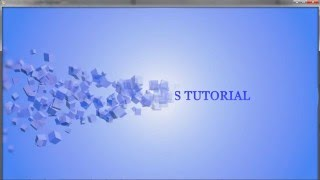 getlinkyoutube.com-After Effects Tutorial How to Create Beautiful Text Animation Using Particle World Effects