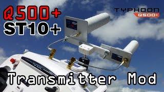 getlinkyoutube.com-Yuneec St10+ Antenna Mod for Horizon Q500 Pilot end Kit Long Range
