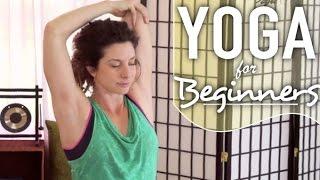 getlinkyoutube.com-Yoga For Neck and Shoulder Pain - 20 Minute Beginners Yoga For Neck, Back, & Shoulder Pain