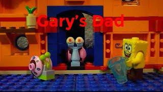 """getlinkyoutube.com-Lego spongebob Episode 20 """"Gary's Dad"""""""